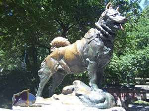The Balto Memorial